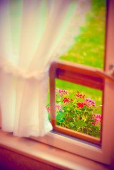I love the miniature portrait window.
