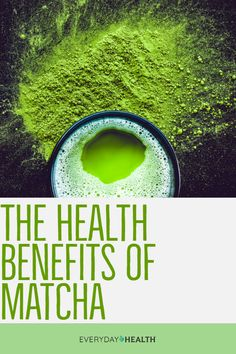 With its vibrant #color and delicious flavor, #matcha isn't your ordinary green tea.