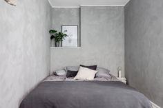 Zweeds appartement vol met beton