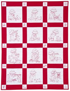 Sunbonnet Patterns to Print Out | Martingale - Sunbonnet Sue and Scottie at Play (Print version + eBook ...