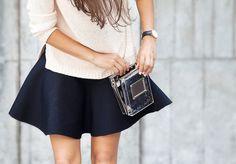 A Pair & A Spare | DIY no sew Neoprene Circle Skirt