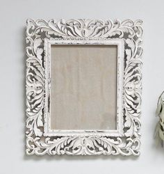 8 x 10 Ornate White Frame Interiors, Frame, Baby, Beautiful, Home Decor, Picture Frame, Decoration Home, Room Decor, Baby Humor