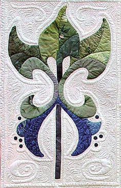 Customer quilt - quilted by Karen McTavish