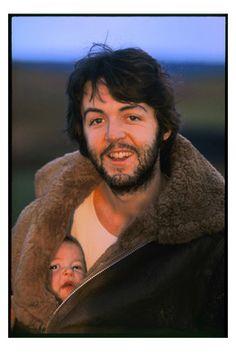 Paul McCartney. Photo by Linda McCartney