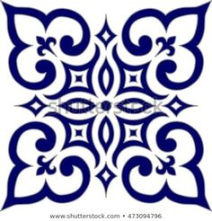Geometric Islamic Pattern Arabesque blue and white., Geometric Islamic Pattern Arabesque blue and white. Geometric Islamic Pattern Arabesque blue and white. Stencil Patterns, Stencil Designs, Tile Patterns, Embroidery Patterns, Islamic Tiles, Islamic Art, Doodle Drawing, Islamic Patterns, Islamic Motifs