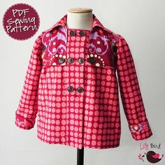 Hopeful Threads: Pattern Review - Mona Coat by Lily Bird Studio