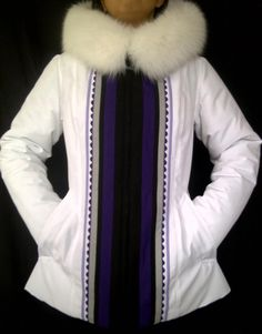 Inuit made women's parka by Wini Nungak