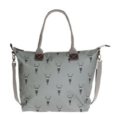 Highland Stag Oilcloth Oundle Bag from Sophie Allport