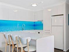 Verto Kitchens   Palm Beach Simple stylish kitchen with a big Wow factor. Coast Australia, Quality Kitchens, Stylish Kitchen, Bespoke Kitchens, Coastal Style, Gold Coast, Palm Beach, Luxury, Big
