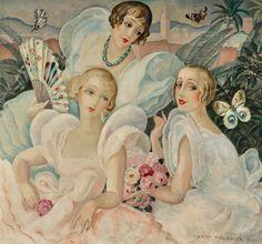The Danish Girl and Portrayal of 'Les Femmes Fatales' by the Artist Gerda Wegener Art Nouveau, Art Deco, Gustave Courbet, The Danish Girl, Salon Art, Cult Following, European Paintings, Museum Of Modern Art, Art History