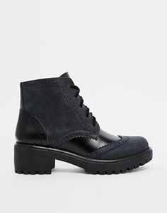Enlarge ASOS READY TO GO Brogue Ankle Boots