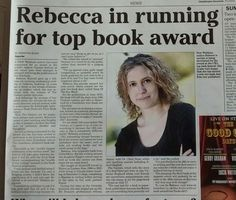 Cleethorpes Chronicle feature on the Edinburgh First Book Award.