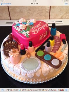 The make up cake