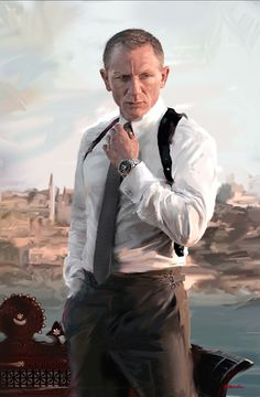 James Bond - Daniel Craig by David Seguin *