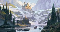Quentin_Regnes_Concept_Art_illustration_02-on-the-river-color