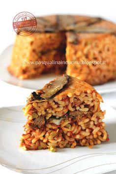 Timbale Sicilian anelletti - Timballo di anelletti siciliano - Pasqualina in cucina
