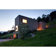 lehmhaus rauch schlins 06 » Single Family House Design in Austria: Neubau Lehmhaus Rauch by Boltshauser Architekten post photo