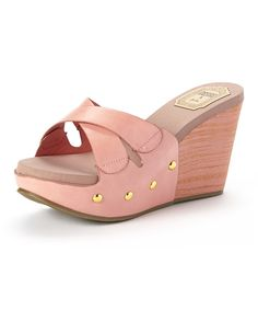 2915fe6b0994 Jacobies Footwear Fuchsia Remy Wedge Sandal