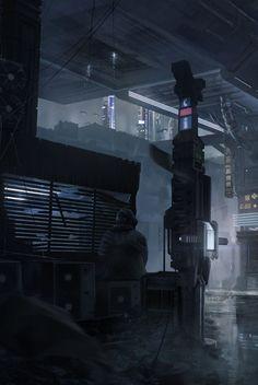 Cybercity by Bo Zonneveld
