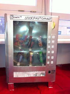 Snoepautomaat surprise Sinterklaas