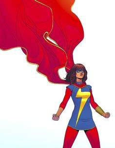 Kamala Khan/Ms. Marvel. I need to start reading the comics.