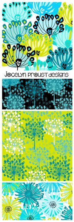 Jocelyn Proust Designs surface pattern design textile design fabric design