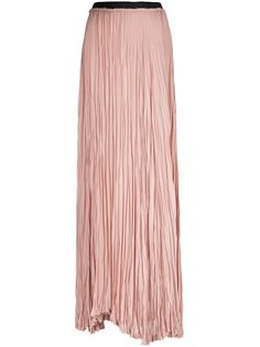 I love pinning stuff from farfetch.com. It cracks me up and scares my husband. ENZA COSTA - pleated maxi skirt 1