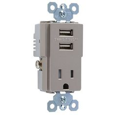 electrical outlets outlets and usb pass seymour legrand 15 amp trademaster decorator triple electrical outlet