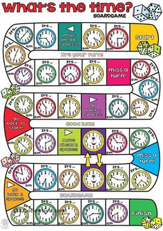 Whats the time BOARDGAME
