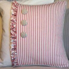 Kumaş Kırlent Modelleri 4 Shabby Chic, Throw Pillows, Sewing, Pattern, Crafts, Adele, Communication, Home Decor, Christmas
