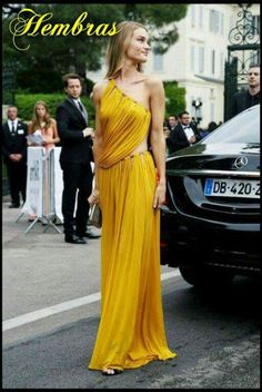 Perfect yellow dress