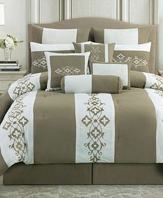 Viola 10 Piece California King Comforter Set on shopstyle.com