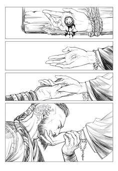 Ragnar Athelstan (Vikings) fan art