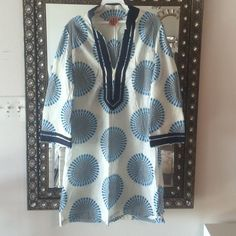 Tory Burch Tops - HOST PICK! Tory Burch Tunic Top/ Swim Coverup  on Poshmark