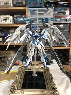 Miniature Figurines, Collectible Figurines, Gundam Wing, Gunpla Custom, Anime Figurines, Sideshow Collectibles, Gundam Model, Mobile Suit, Action Figures