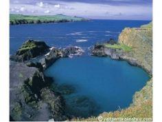 Blue Lagoon, Abereiddy Pembrokeshire Wales