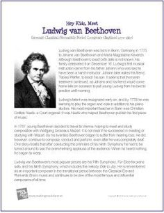 Ludwig van Beethoven: biography and facts