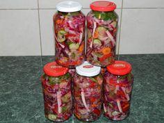 Salata asortata pentru iarna (reteta Motan)