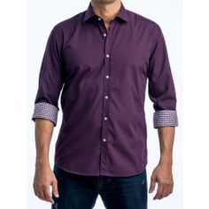 Dark Purple Dress Shirt | Classy Clothes Colors | Pinterest | Dark ...