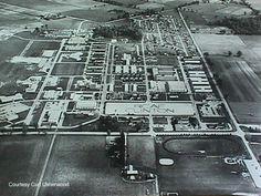 RCAF Station Clinton, Ontario - 1957