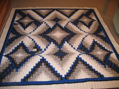 Bargello from Quilting Board. Diamond Jubilee pattern. Love the color choices. One of the prettiest I've seen.