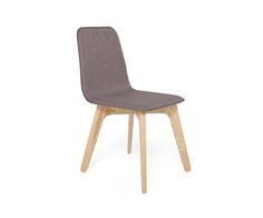 Buy Lolli Dining Chair Grey and Oak | David Phillips