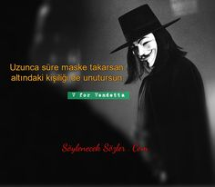 V for Vendetta Movie Quotes, Funny Quotes, V For Vendetta, Maskcara Beauty, Word Up, Joker And Harley, Thug Life, Sewing Patterns Free, Mask Design