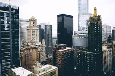 Take me to the city where the sky meets the tops of buildings. Pinterest // EllDuclos