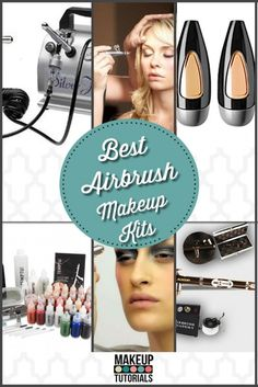 Must Haves: Best Airbrush Makeup Kits. Have that flawless face with the perfect beauty products. Beauty Tips and Tricks. | Makeup Tutorials  http://makeuptutorials.com/makeup-tutorials-best-airbrush-makeup-kit/