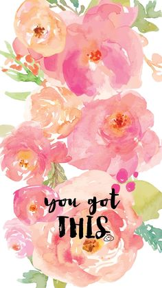 42 Ideas For Wallpaper Flowers Quotes Floral Patt Screen Wallpaper, Wallpaper Quotes, Wallpaper Backgrounds, Iphone Wallpaper, Flower Quotes, Carpe Diem, Cute Quotes, Cute Wallpapers, Aesthetic Wallpapers