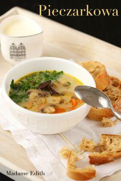 pieczarkowa Thai Red Curry, Ramen, Ethnic Recipes, Food, Essen, Meals, Yemek, Eten