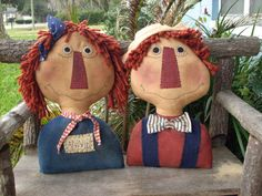free patterns for andy and annie dolls | Cloth Doll Patterns- You Are Special Patterns- The Pattern Hutch ...