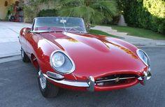 Jaguar XKE - or also called the Jaguar E-Type is a sports car produced by Jaguar Cars Ltd. between By combining sporty design, beautiful Jaguar Xk, Jaguar E Type, Go Car, Pontiac Firebird Trans Am, Easy Rider, Cute Cars, Cars And Motorcycles, Dream Cars, Classic Cars