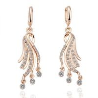 귀걸이 18 천개 골드 아름다운 귀걸이 18 천개 골드 인기있는 보석 도매 가격 wm om LGPE037